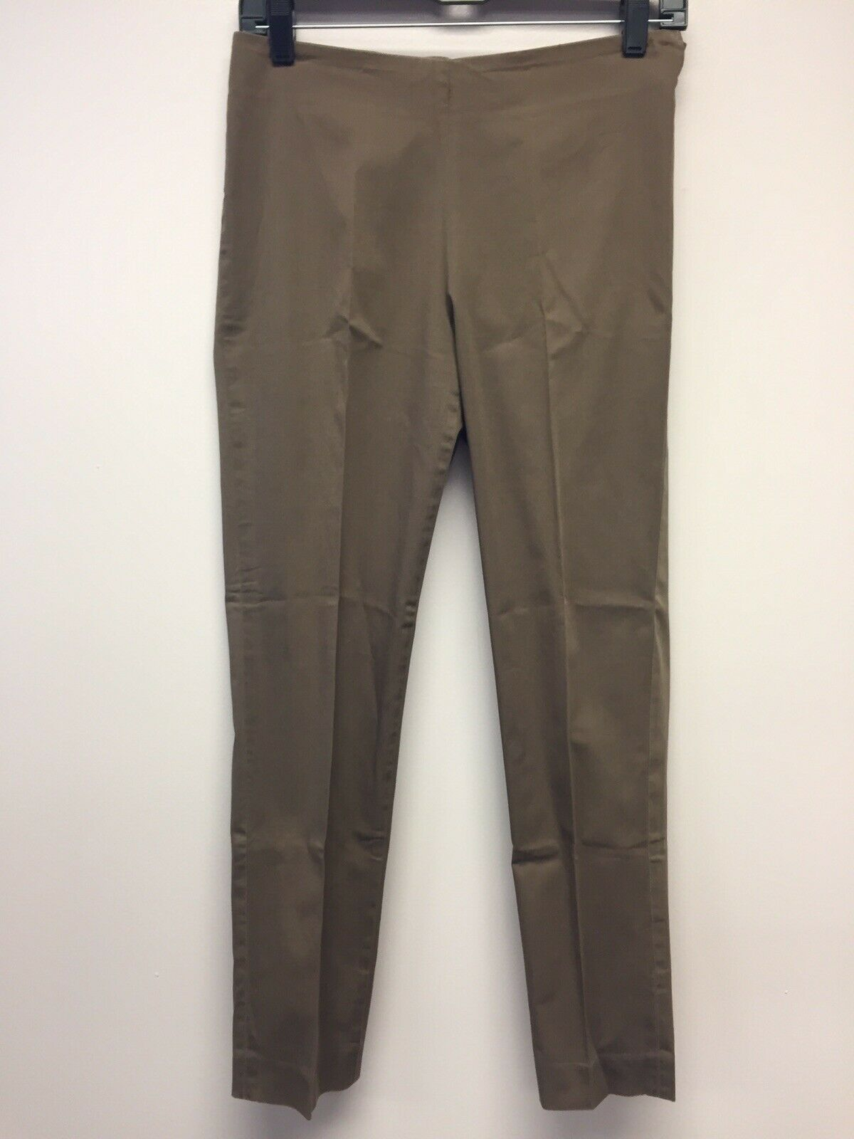 damen Brunello Cucinelli braun Cotton Pants Small Slim Made In