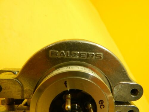 Balzers BG GO1 503 Ion Gauge Head High Pressure Measuring Unit IMR 110 Used