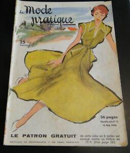 Magazine La MODE PRATIQUE  15 Mai   1950  n°10