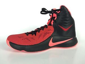 c494b23c1830 Nike Zoom Hyperfuse 2014 Men s Black And Red Sneakers Size 12.5