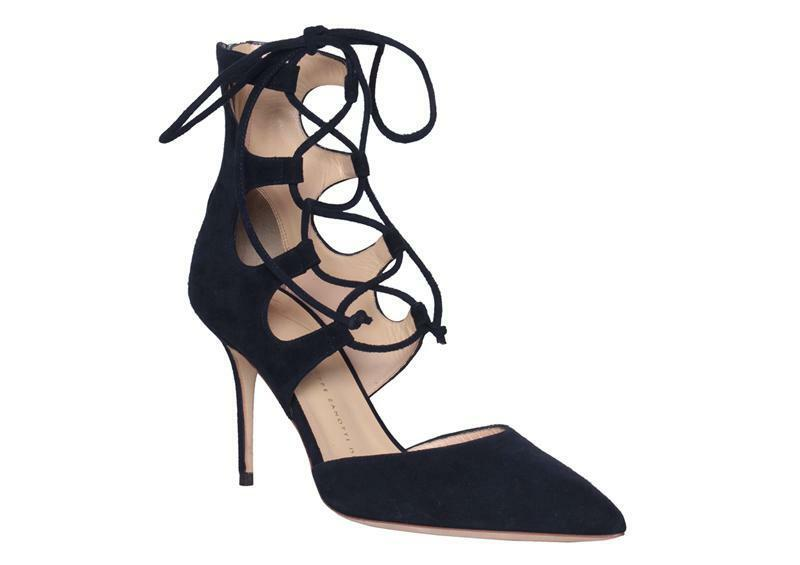 -70% Giuseppe Zanotti Design Womens shoes Beatrix Lace Up Heels Pumps E66073