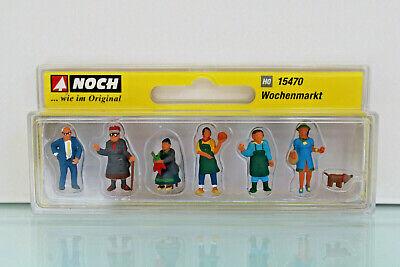 neu Noch H0 15470 OVP 7 Figuren Wochenmarkt