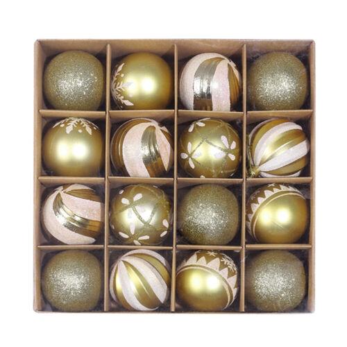 16Pcs Large Christmas Decor Baubles Tree Xmas Balls Party Wedding Ornament