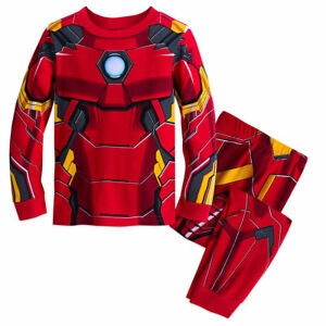 Disney Store Marvel Avenger Hulk Costume Long Sleeve Pajama Set Boy Size 5