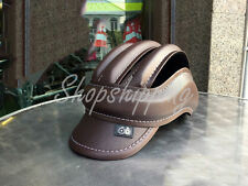 Handmade Brown Cycling Helmet Bicycle Vintage Retro Leather Classic Outdoor 05
