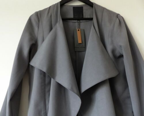Afrah UK 10 36 Blazer Color Nuovo taglia Superb Bnwt Minus di In zecca Grey qzEnR