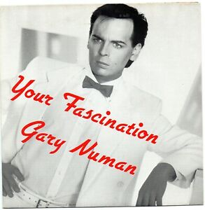 """7"""" Single French Import - Gary Numan - Your Fascination - 135030."""