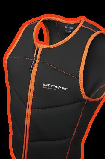 Waterproof 3d Mesh Vest-Lady Größe XL