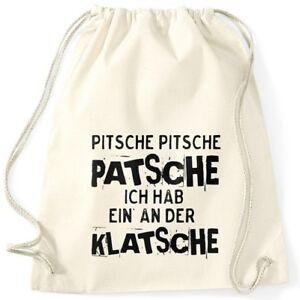 Turnbeutel-Spruch-Pitsche-Pitsche-Patsche-Ich-hab-einen-an-der-Klatsche-Gymsac