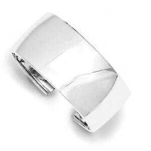 925 Sterling Silver Polished Slip-on Bangle Bracelet