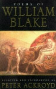 Poems-of-William-Blake-by-Ackroyd-Peter-Paperback-Book-The-Fast-Free-Shipping