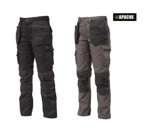Apache APAHTB Lightweight Polycotton Work Wear Holster Pocket Trousers