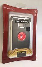BALLISTIC TJ1491-A08C Samsung Galaxy Note 4 Tough Jacket Case (Black/White)
