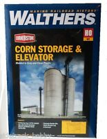 Ho Scale Walthers Cornerstone 933-2975 Corn Ethanol Storage Silos & Elevator Kit