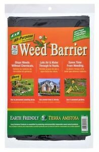 Image Is Loading Weed Barrier Blocker All Purpose Black Garden Fabric