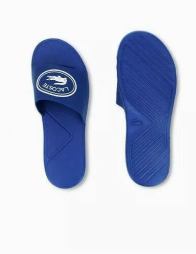 New Lacoste Children/'s L.30 Slide 119 1  Blue//white