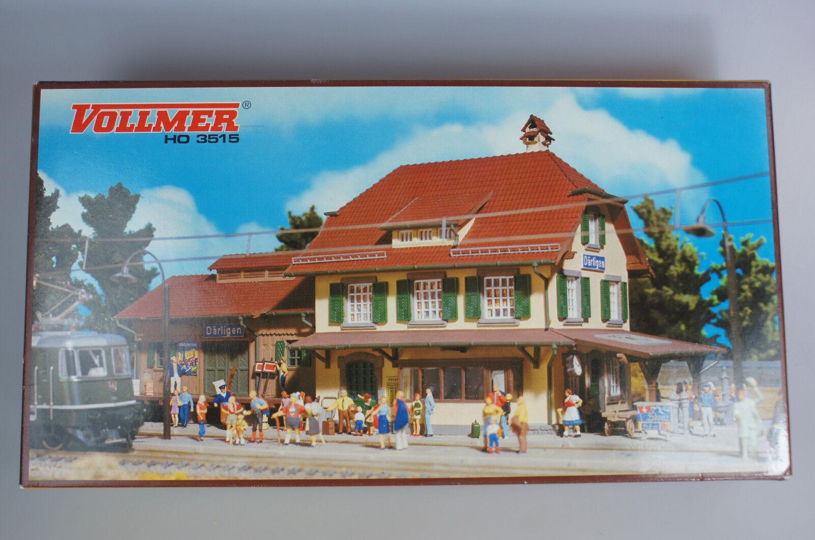 VOLLMER 3515 stazione ferroviaria Därligen HO SCATOLA ORIGINALE