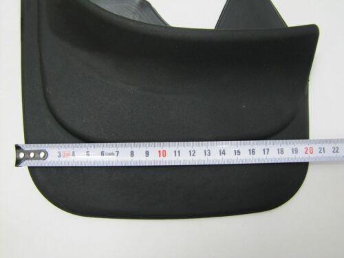120702 Bavettes Set universel Noir Arrière Caoutchouc Coupe Elegant Model 2