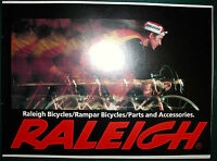 Raleigh Product Catalog,1979,professional, Superbe, Sports,tourist+,free S/h