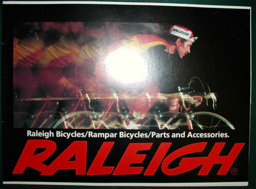 Superbe Sports,Tourist+,FREE S//H NOS Raleigh Product Catalog,1979,Professional