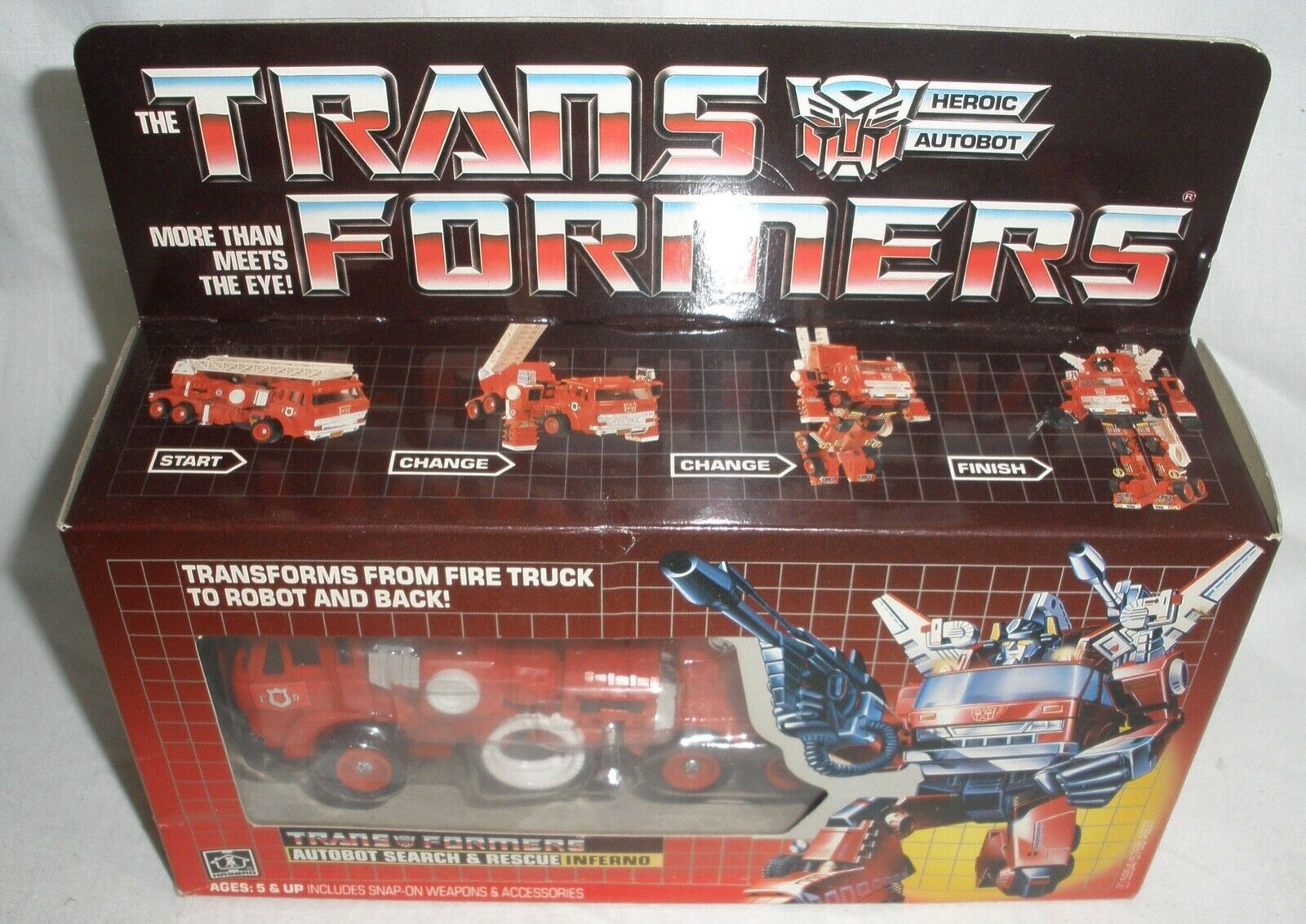 Transformers InFerno l new in the box