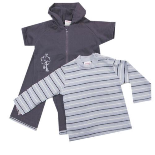 68,80 Schnizler Babyanzug 3-tlg Shirt Hose Jacke Mädchen mit Kapuze Gr