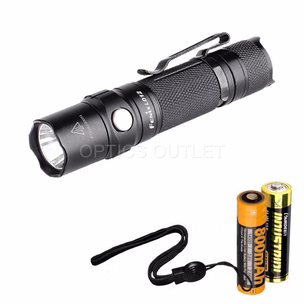 Fenix Fenix Fenix LD12 2017 Ed. 320 Lumen Small EDC NW LED Flashlight w/ AA & 14500 Battery 5e43cc