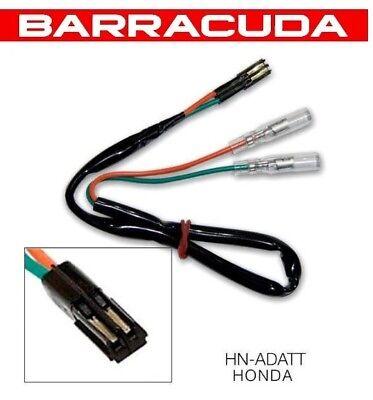 BARRACUDA COPPIA CAVI CABLAGGIO ADATTATORI FRECCE HONDA CBR 600 RR 2007-2012