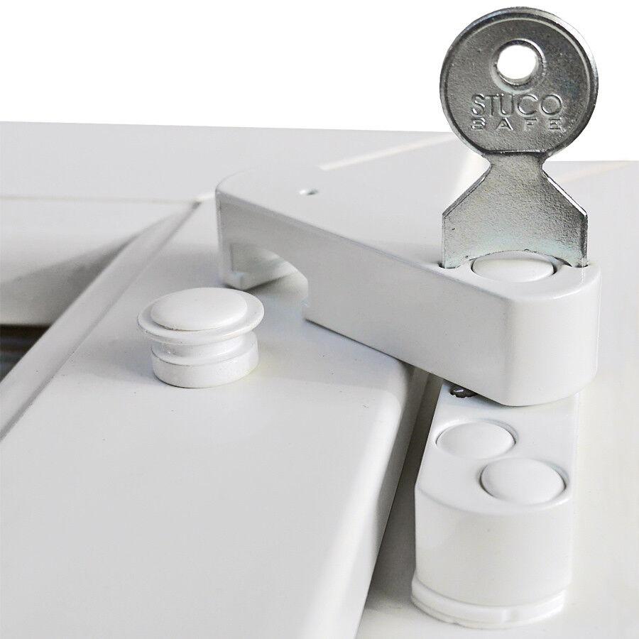Bever Stuco Safe 22S, geprüfte und zertifizierte Fenstersicherung mit Pilzkopf