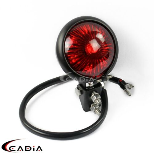 LED Rear Stop Tail Light Motorcycle Taillight For Harley Cafe Racer Scrambler