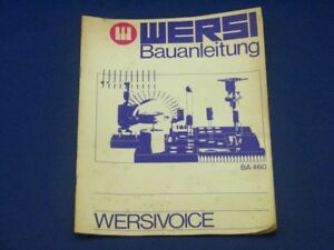 Wersi-Concerto-Building-Instructions-Versivoice