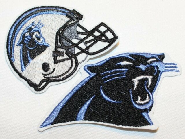 check out 6df2a 51250 NFL Carolina Panthers Embroidered Iron-on Patch FREE SHIPPING