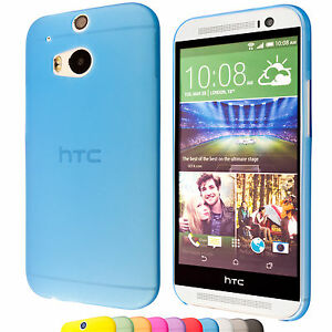 HTC-One-M8-One-M8-Dual-Coque-de-protection-housse-plat-mince-facilement