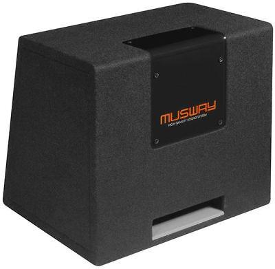 """Fiducioso Musway Mt169q Single-bassreflex-system 6x9 """" Subwoofer Una Grande Varietà Di Merci"""