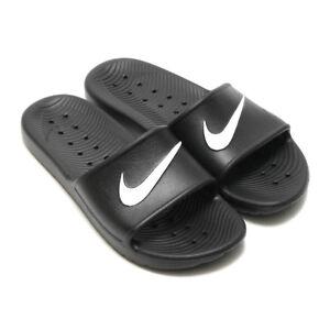 huge discount a8960 2f379 Image is loading Nike-Kawa-Shower-Footlong-Men-832528-001-slippers-