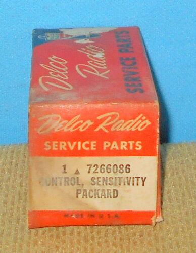 * NOS GM Delco 7266086 Radio Control Sensitivity Packard Free Shipping