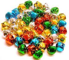 """Jingle Bells 15mm Assorted Colours """"5 Colours"""" 48 pieces"""