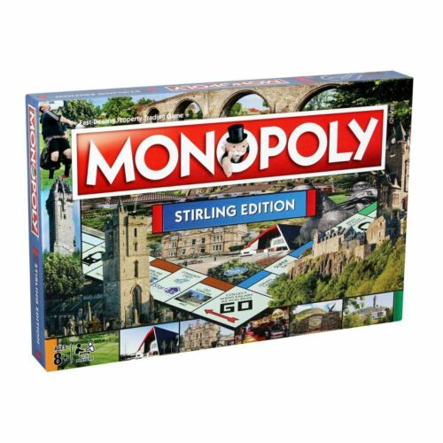 Stirling Monopoly Board Game Discounted Price ✅FAST /& FREE DISPATCH✅