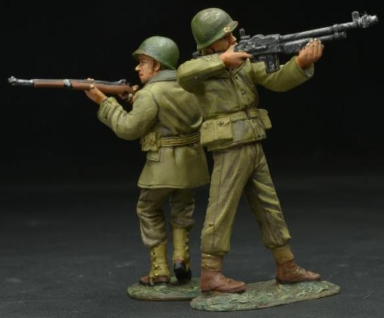 Figarti PELTRO WW2 AMERICANO eta-054 SERRATURA E CARICO Late GUERRA USA
