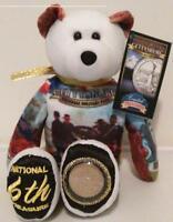 Gettysburg Pennsylvania National Park Coin Bear & Pennsylvania Quarter Bear Set