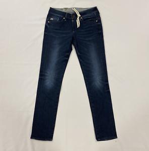 G-star-Slim-Fit-Jeans-Skinny-Medio-Aged-Blu-Da-Uomo-Taglia-UK-W29-L32-REF153