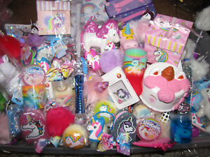 12-unicorn-birthday-random-party-favors-fillers-squishy-slime-putty-gifts