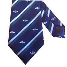 Parachute Signal Cap Badge Motif Regimental Army Tie