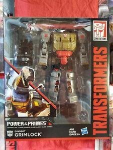 Hasbro Transformers Power of Primes Dinobots GRIMLOCK Autobot Volcanicus Voyager