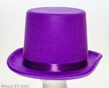 Rare Gray Top Hat 7 18 faded grosgrain ribbon appears Lilac.