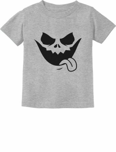 Jack O/' Lantern Scary Pumpkin Face Halloween Toddler//Infant Kids T-Shirt Spooky