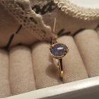 AAA Australian Boulder Opal Ring in Platinum/14k gold Over Sterling Silver