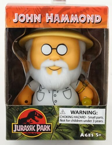 "New Universal Studios Jurassic Park John Hammond 4/"" Uni-Minis Vinyl Figure"