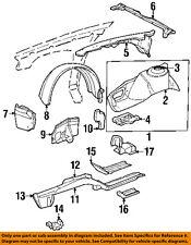 Driver Side Rear Section Fender Liner For 97-99 Cadillac DeVille Front