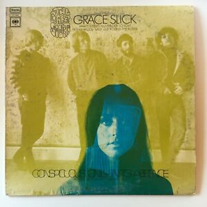 1968 The Great Society With Grace Slick Conspicuous  Vinyl LP Album CS 9624 VG+